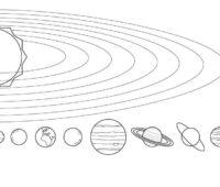 Dibujos del Sistema Solar