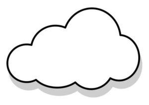 nubes a lápiz