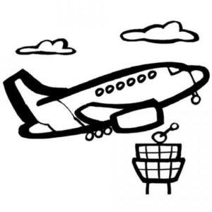 aviones a lápiz