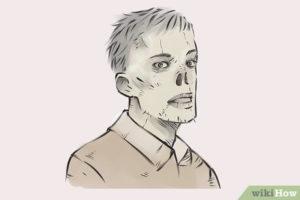 dibujo de zombie para imprimir