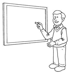 dibujos a lápiz de las profesiones