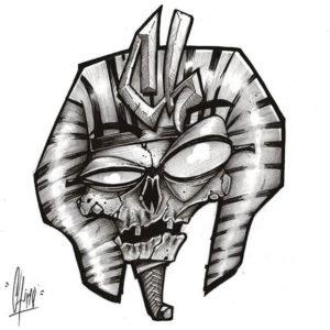 dibujos de momias para bajar
