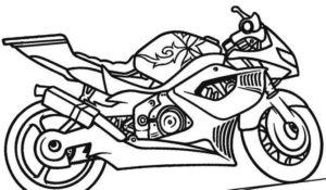dibujos de moto
