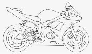dibujos de motos para imprimir