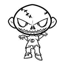 dibujos de zombies a lápiz
