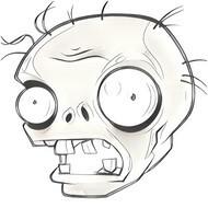 dibujos de zombies