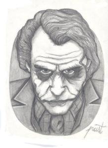 Dibujos Del Joker A Lápiz El Guasón The Joker Para Imprimir