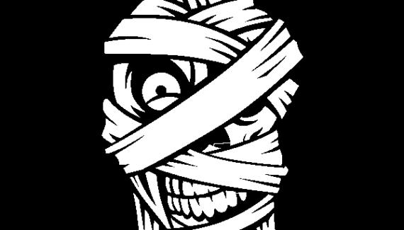 imágenes de momias a lápiz