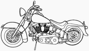 motocicletas para dibujar