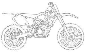 motos para dibujar