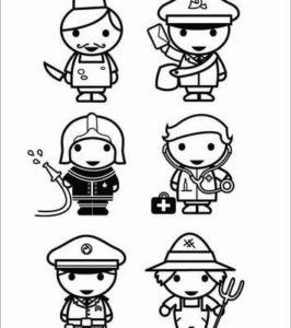 profesiones para dibujar