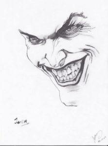 rostro del joker