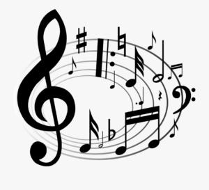 dibujos de notas musicales a lápiz