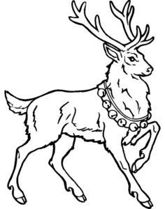 dibujos de renos