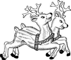 dibujos de renos para descargar