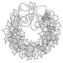 coronas para navidad