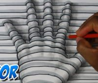 Dibujos 3D a Lápiz