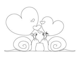 dibujos de amor kawaii a lápiz
