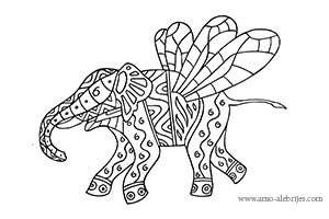 elefante alebrije