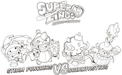Dibujos de Superzings - Dibujos a Lápiz