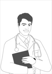 dibujos de médicos