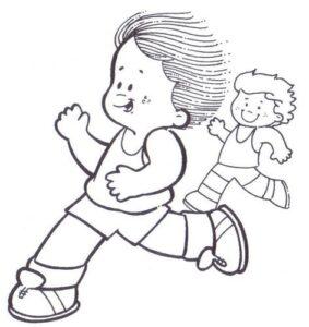 educación física niños
